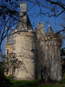 Château hanté de Fougeret