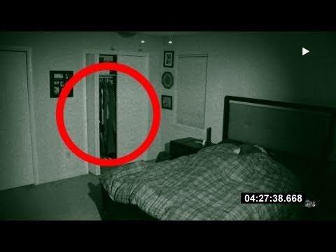 Fantôme filmé par une caméra de surveillance