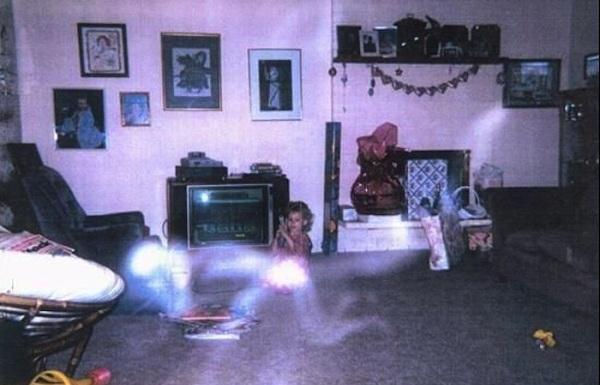 Photo d'un fantôme (réel)
