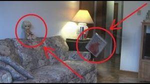 Poltergeist filmé par caméra de surveillance