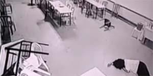 Poltergeist violent dans un hôtel