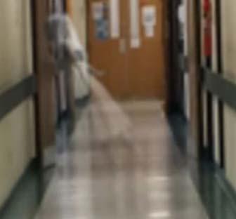 Un vrai fantôme à l'hôpital