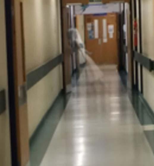 Vrai fantôme hôpital de Leeds