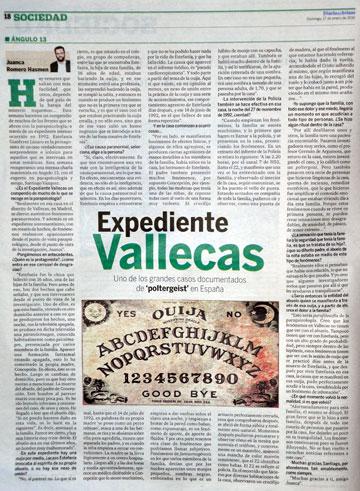 Journal affaire Vallecas